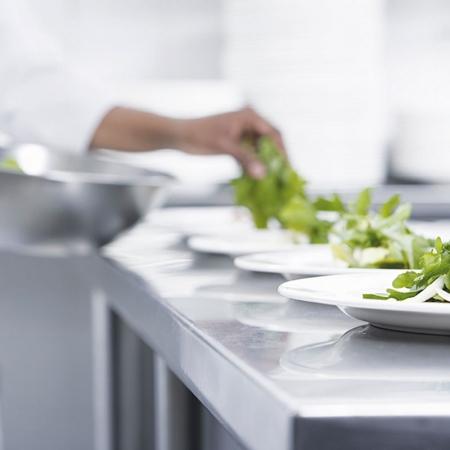 Professionelle Küche